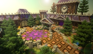 [Minecraft] Purple Hub