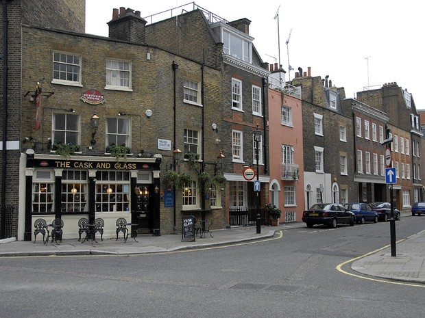 Catalog of the Most-Loved Places V90 Belgravia - Streets & Mews