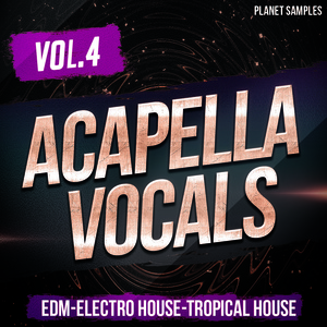 Planet Samples Acapella Vocals Vol.4