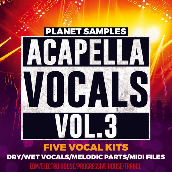 Planet Samples Acapella Vocals Vol.3