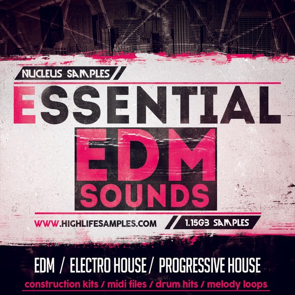 Nucleus Samples Essential EDM Sounds