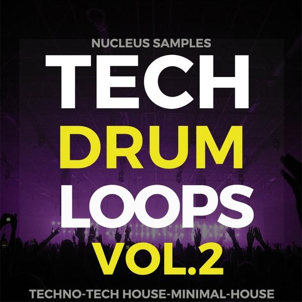 Nucleus Samples Tech Drum Loops Vol.2