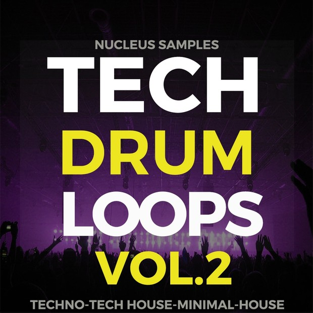 Nucleus Samples Tech Drum Loops Vol.2
