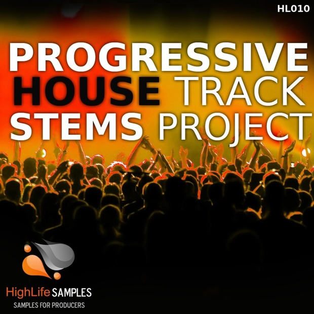 Progressive House Track Stems Project