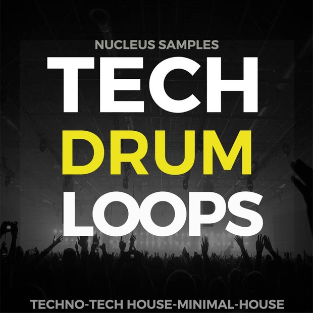 Nucleus Samples Tech Drum Loops