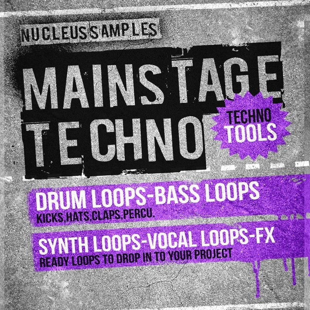 Nucleus Samples Mainstage Techno