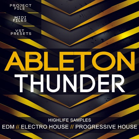 Ableton Thunder EDM Template