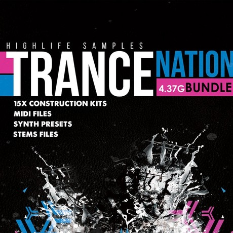 HighLife Samples Trance Nation Bundle 3.47GB
