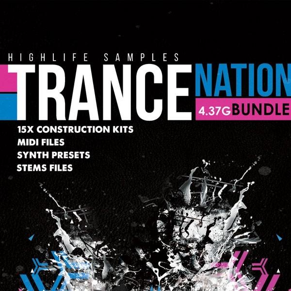 HighLife Samples Trance Nation Bundle 3.47GB
