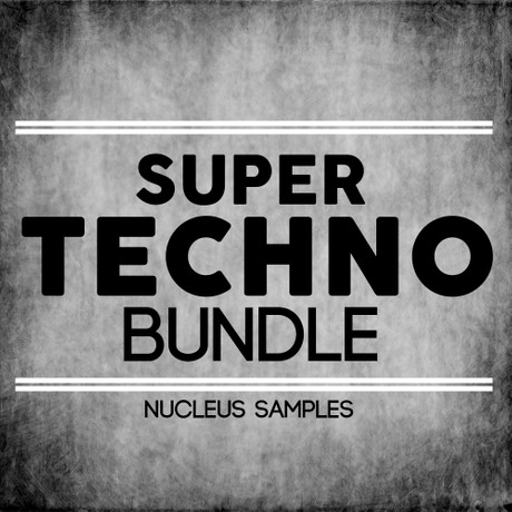 Nucleus Samples Super Techno Bundle