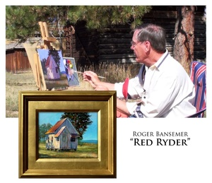 Red Ryder - Painting demonstration by Roger Bansemer