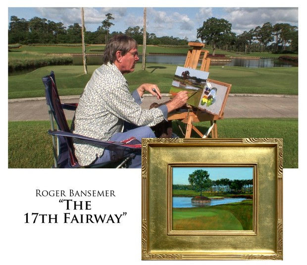 The Seventeenth Fairway - Painting demonstration by Roger Bansemer