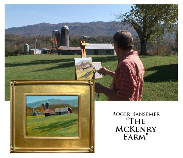 The McKenry Farm - Painting demonstration by Roger Bansemer