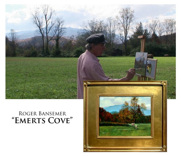 Emerts Cover - Painting demonstration by Roger Bansemer