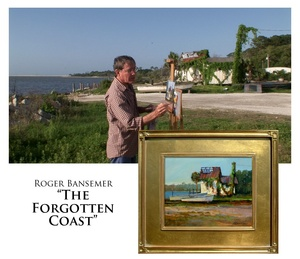 The Forgotten Coast - Painting demonstration by Roger Bansemer