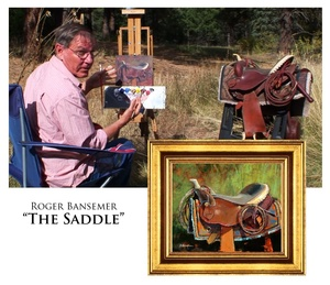 The Saddle - Painting demonstration by Roger Bansemer