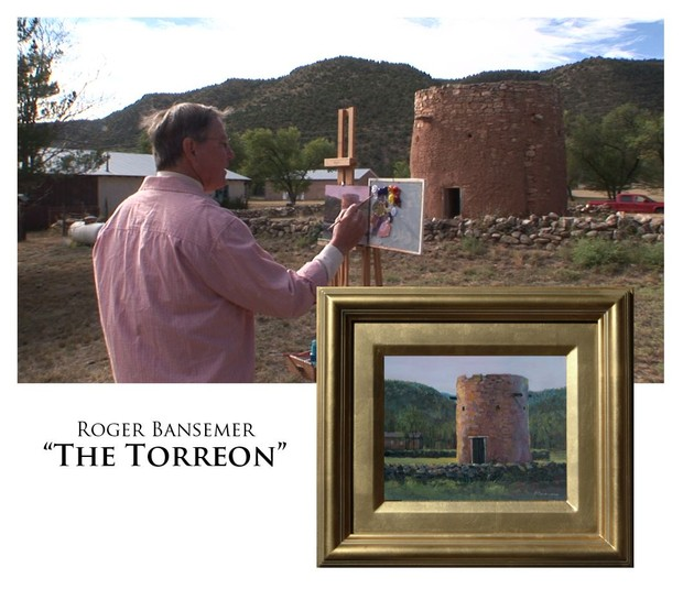 The Torreon - Painting demonstration by Roger Bansemer