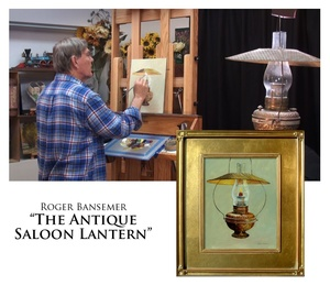 The Antique Saloon Lantern