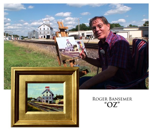 OZ - Painting demonstration by Roger Bansemer