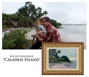 Caladesi Island - Painting demonstration by Roger Bansemer
