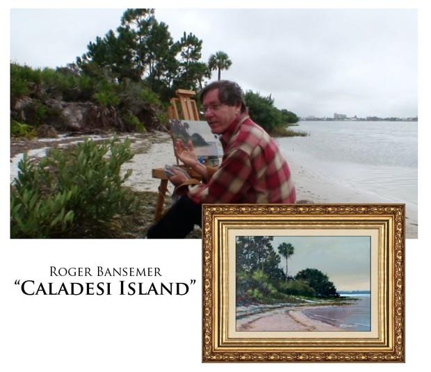 Caladesi Island - Painting demonstration by Roger Bansemer