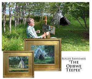The Ojibwe Teepee