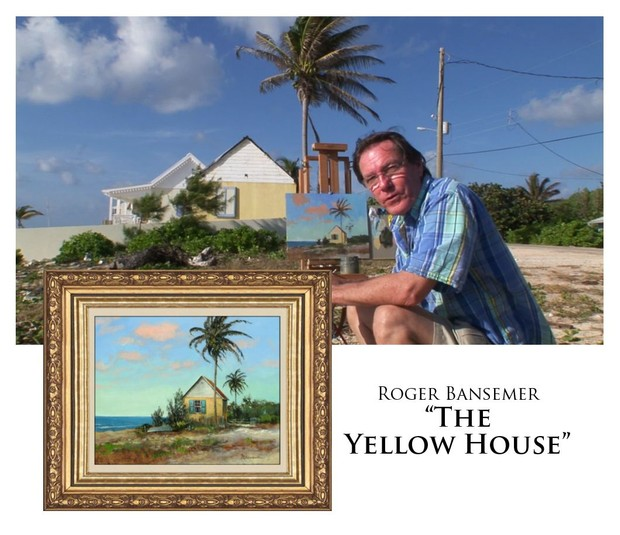 The Yellow House - Painting demonstration by Roger Bansemer