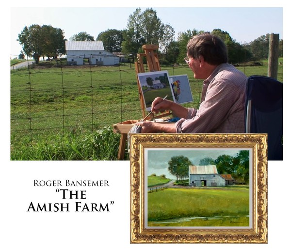 The Amish Farm - Painting demonstration by Roger Bansemer