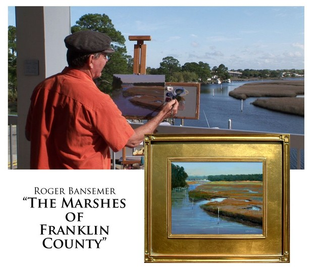 The Marshes of Franklin County - Painting demonstration by Roger Bansemer