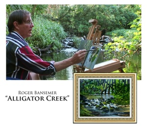 Alligator Creek - Painting demonstration by Roger Bansemer