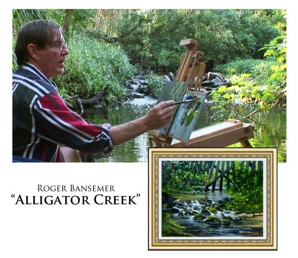 Alligator Creek - Painting demonstration by Roger Bansemer