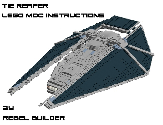 Lego Tie Reaper Moc Instructions By Rebel Builder