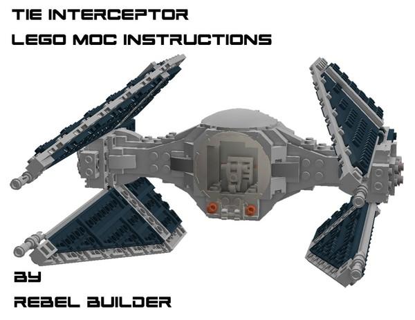 LEGO TIE Interceptor Instructions by Rebel Builder