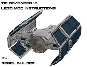 LEGO Darth Vader's TIE Advanced X1 Instructions