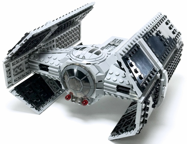 Lego Darth Vaders Tie Advanced X1 Instructions By Reb