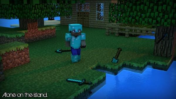Fond Décrant Minecraft Iziman