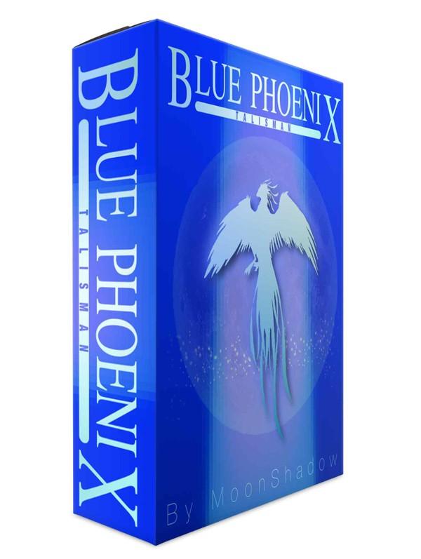 Blue Phoenix Talisman