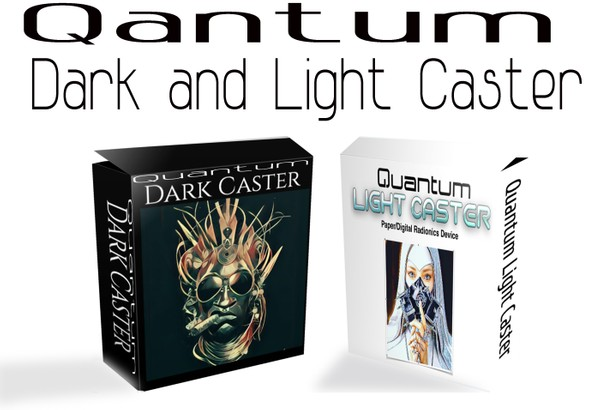 Quantum  Light and Dark Caster  Paper/Digital Radionics Device