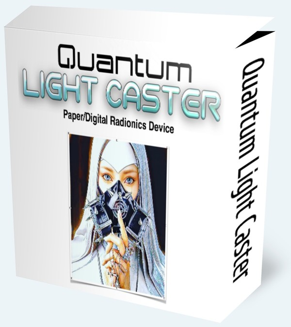 Quantum Light Caster (Paper/Digital Radionics Device)