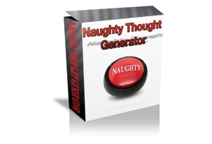Naughty  Thought Generator (Radionics Plate)