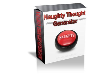 Naughty  Thought Generator (Radionics Plate)