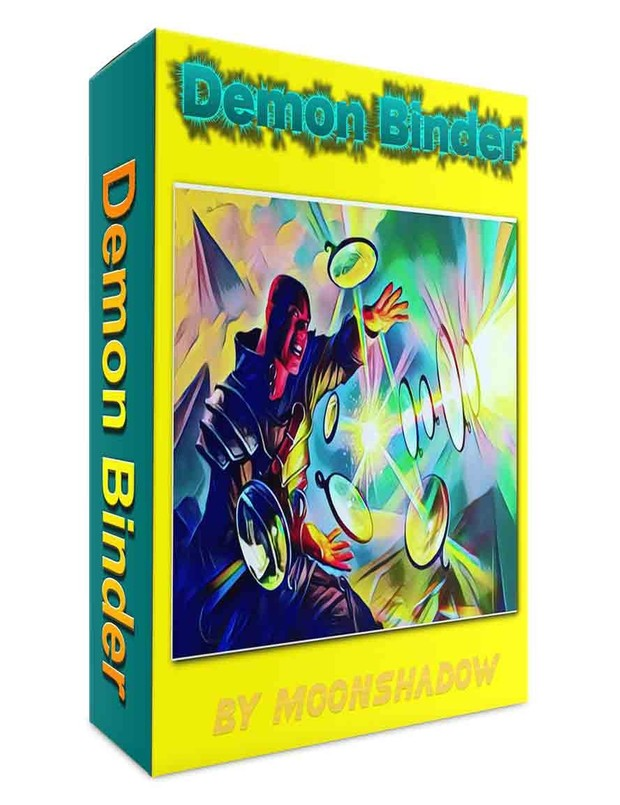 Demon Binder  (Radionic Plate)