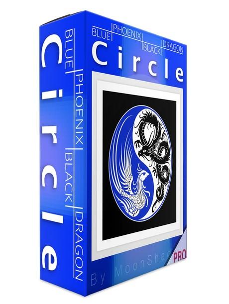Black Dragon Blue Phoenix CirclePro Talisman