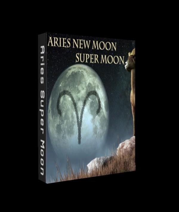 Aries Super Moon Talisman
