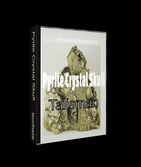 Pyrite Crystal Skull Talisman