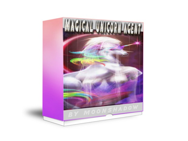 Magical Unicorn and Dark Crystal Unicorn