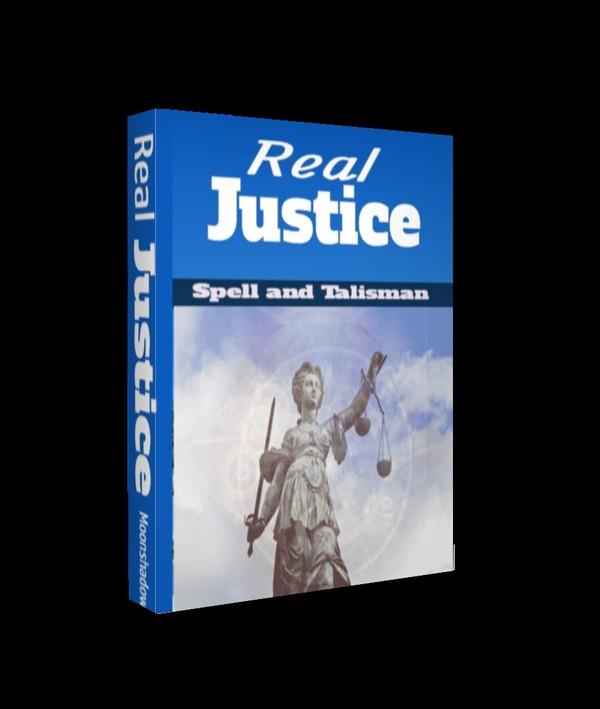 Real Justice Spell and Quantum Digital Talisman