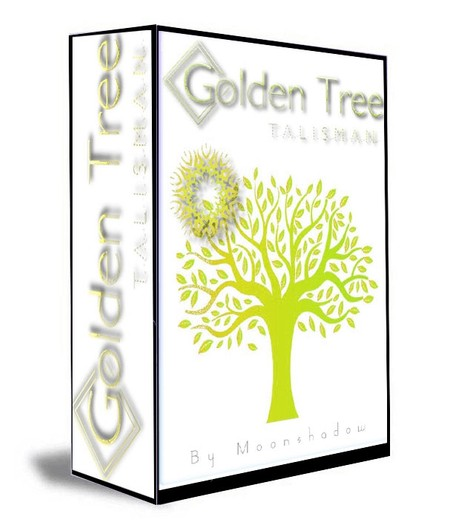 Golden Tree Healing Talisman