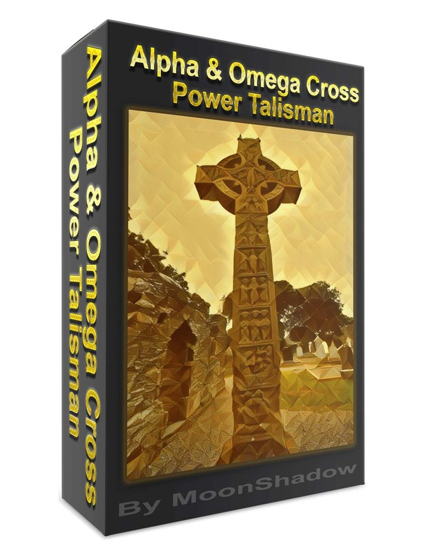 Alpha Omega Cross Power Talisman For Abundance
