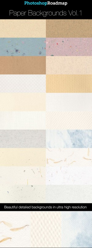Paper Backgrounds Collection Vol 1